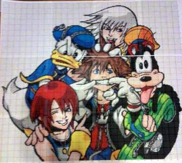 Kingdom Hearts WIP by FuyunoHoshi