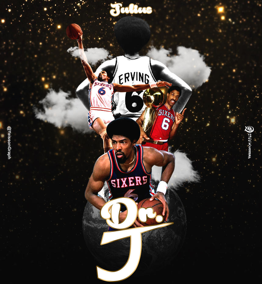 Yeisson Graph Julius Erving Dr J by YeissonGraph on DeviantArt