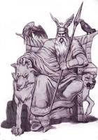 Odin by SketchMonster1