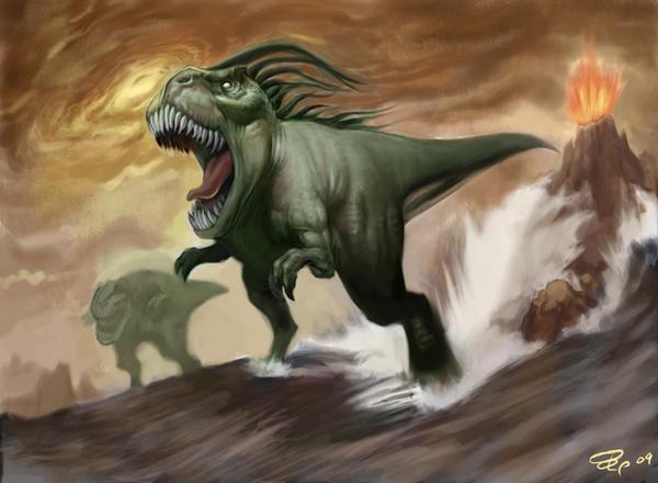Dino Tracker by SketchMonster1