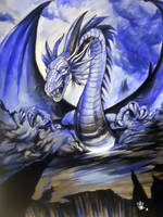 Dragon Blue by SketchMonster1