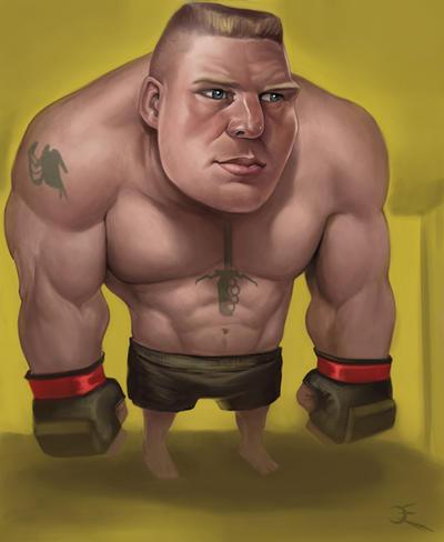 Young Brock Lesnar Brock lesnar by omegaman20
