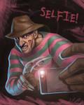 Nightmare on Elm Street Selfie