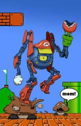 Mario Portal Crossover by SketchMonster1