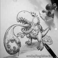 Yoshi Monster Redesign - Super Mario Bros