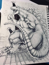 Godzilla Sketch!
