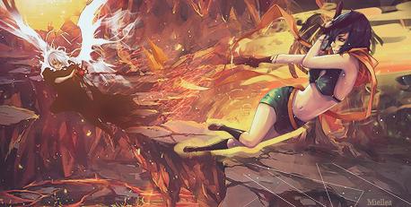 Fight (test) by Miellea-chan