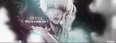 Kaneki Ken signature who is inside me ? by Miellea-chan