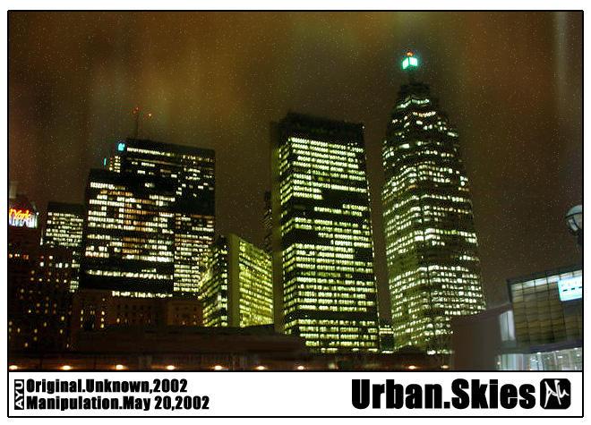 Urban Skies by karnjerrylow