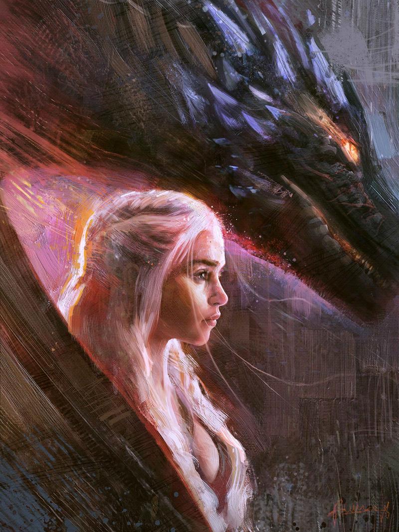 Daenerys Targaryen by Rmusiclife