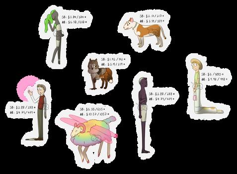 [OPEN] Assorted adopts