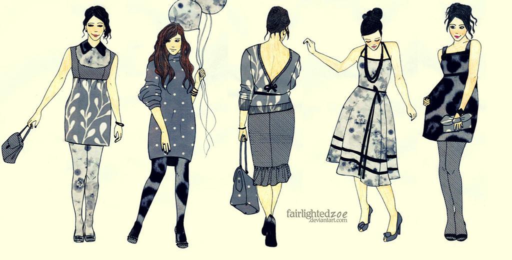 paper looks by fairlightedzoe