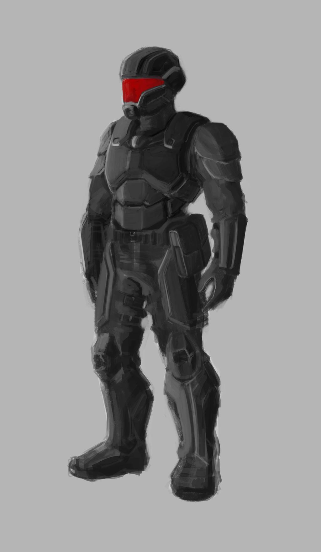Tiberium Wars: Nod Infantryman by Ranfield