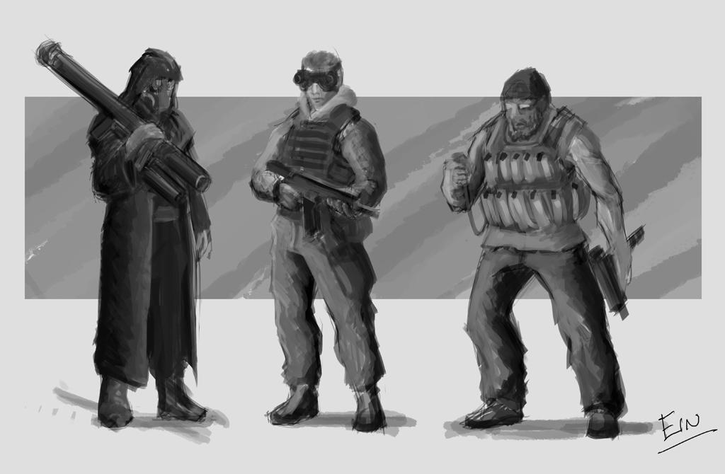 Tiberium Wars: Nod Militia by Ranfield