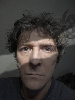 Self-portrait with a strip