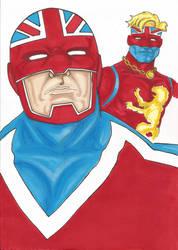 Captain Britain by Flip-R