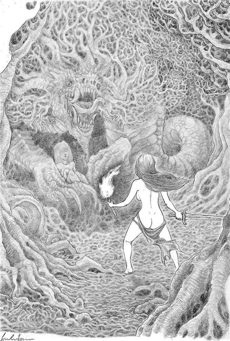 Deep in the forest by GarmrKiDar
