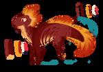 Fire Axolotl-Inspired Adopt OPEN