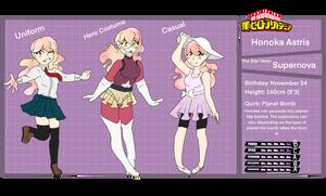 Honoka Astris reference sheet