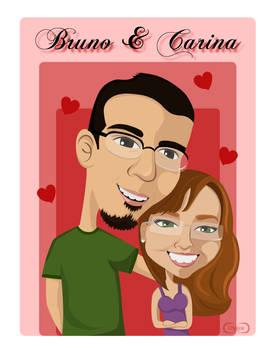 Bruno e Carina
