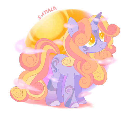 Sunset Shine Pony {Auction - Closed} by S-Adopts