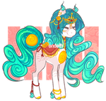 Solutai Pony Adopt {Auction - Closed}