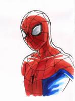 Spidey sketch II by CharmingTone
