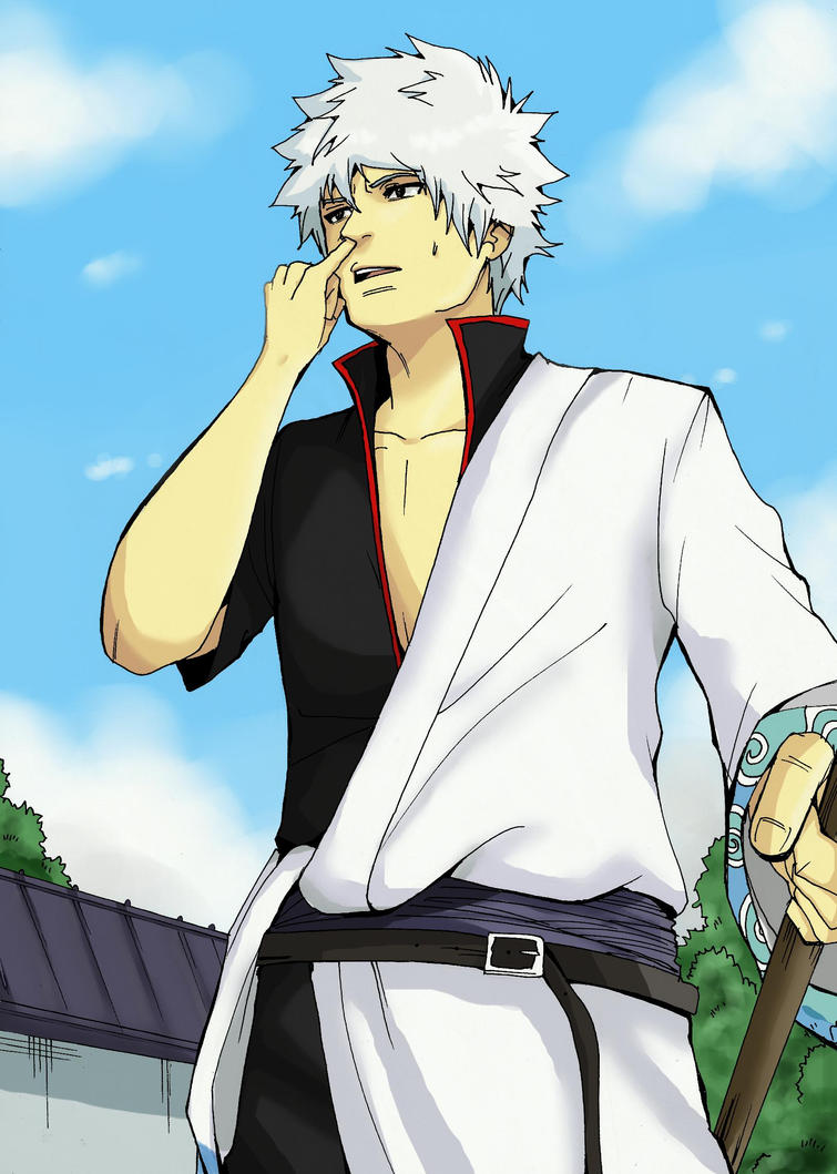 Gintoki Sakata by TheFresco