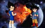 Goku Jr Vs Vegeta Jr