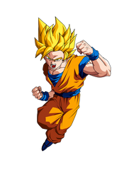 Goku SSJ by dragonlucky86