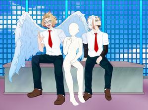 [BNHA:Nextgen] Aoi and Kori base