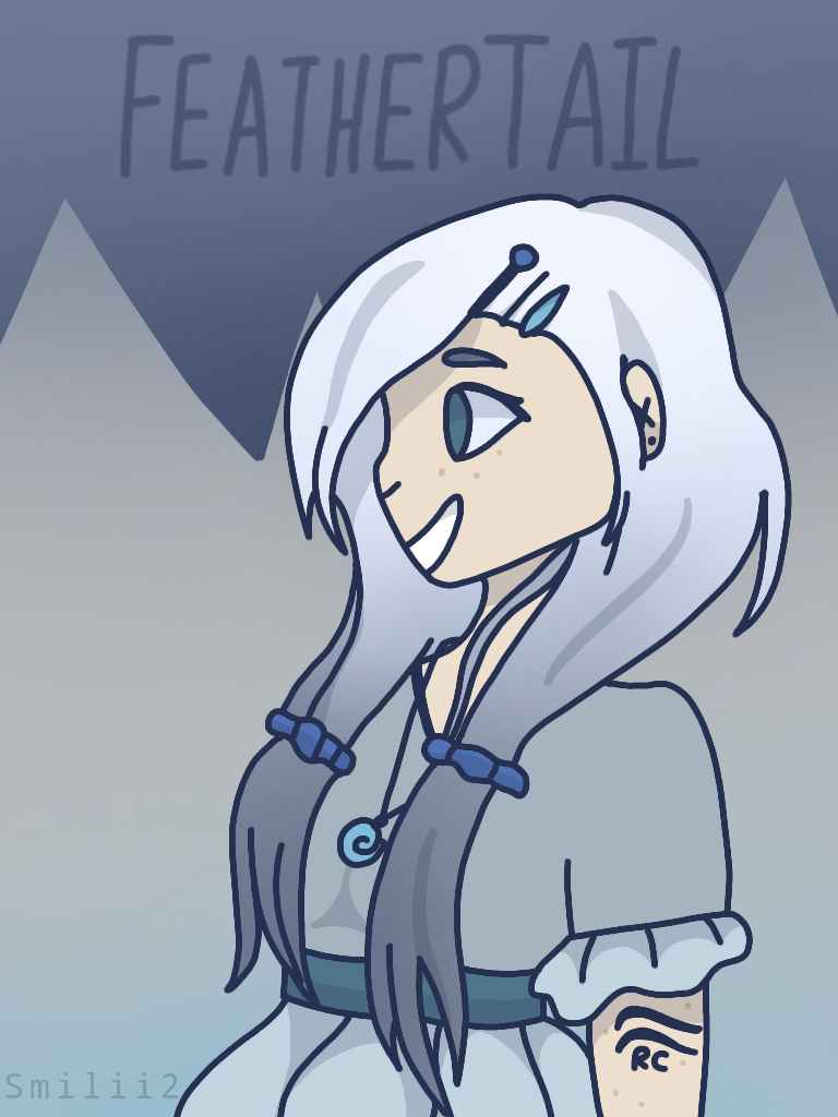 Human Feathertail by Smileyme2