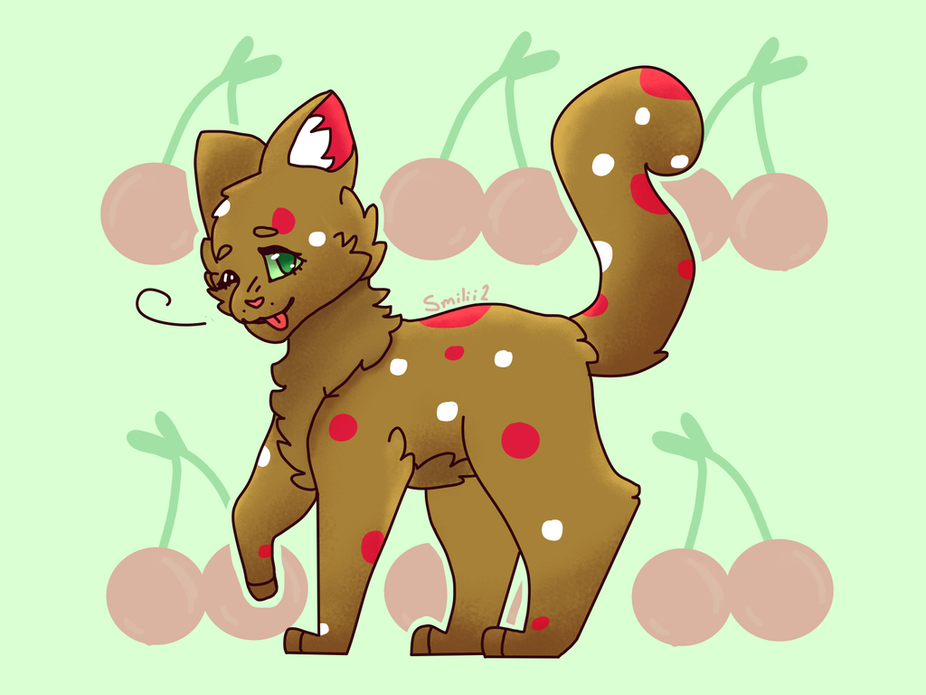 Art Trade- Cherryclaw by Smileyme2