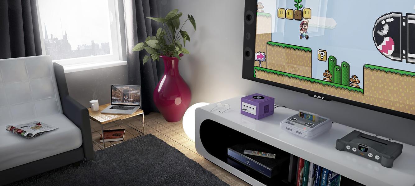 Retro gamer by Donass