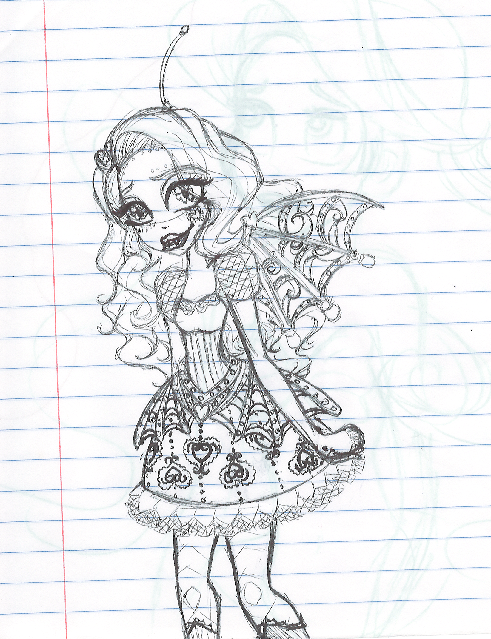 Monster High Dracubecca Fanart By XXJinx StarXx