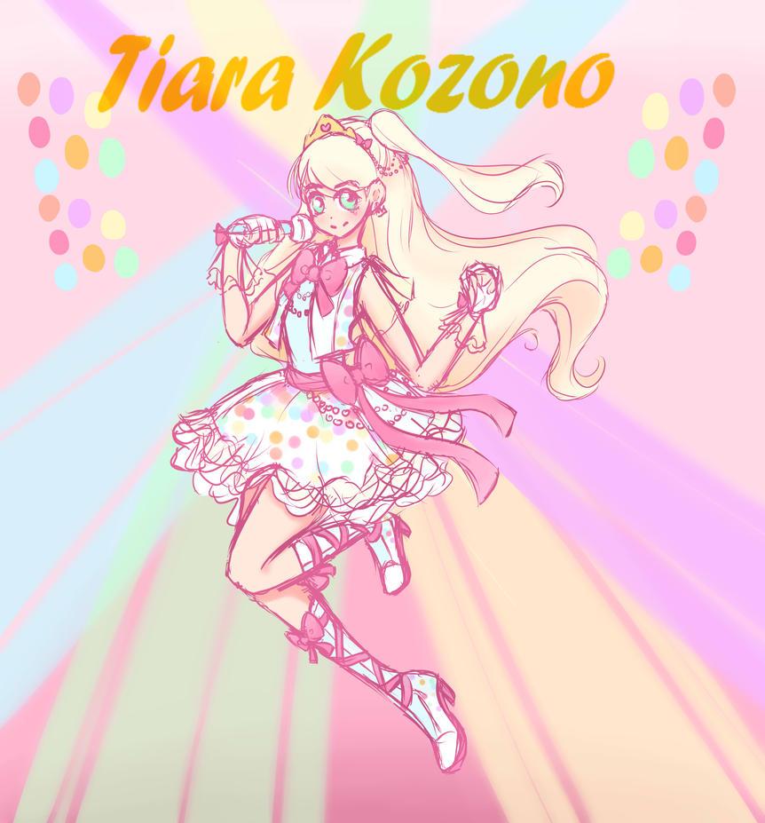 Tiara Kozono Sketch by xXJinx-StarXx