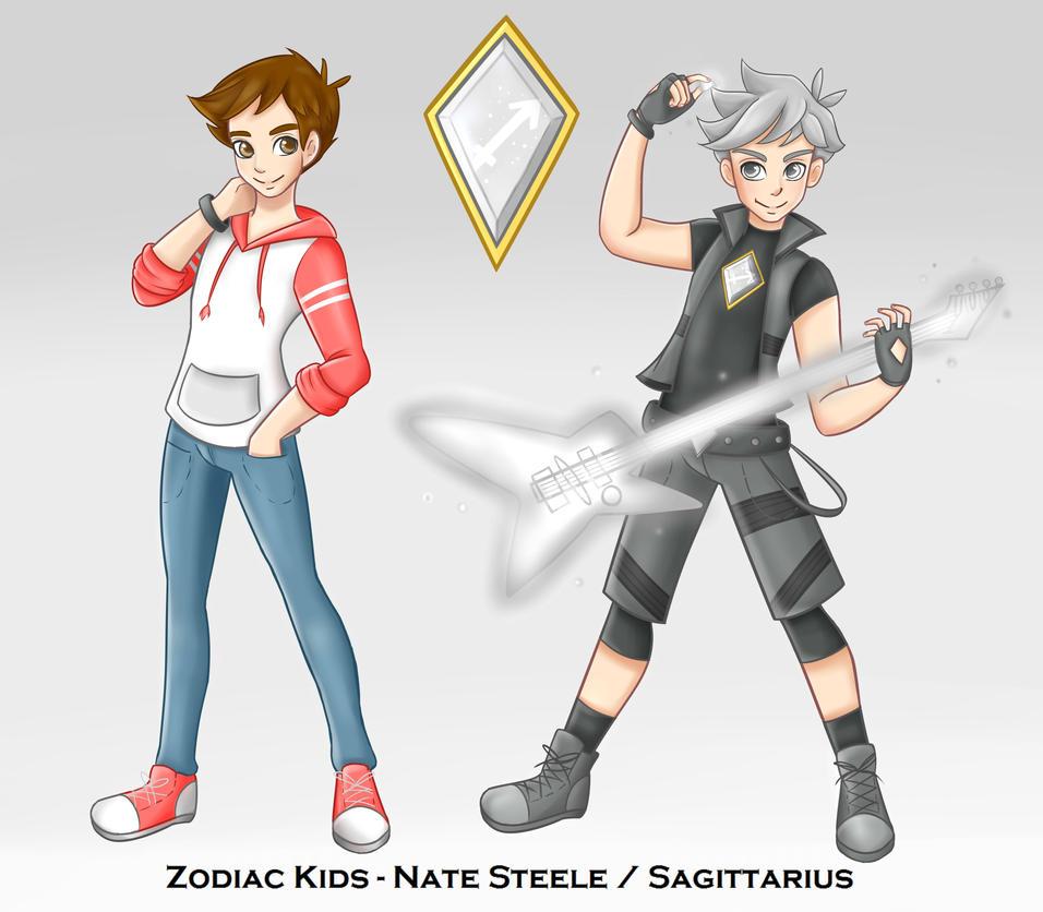 Zodiac Kids- Nate Concept Art by xXJinx-StarXx