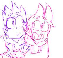 (WIP, Sketchy) Screenshot Redraw For a Friend by DJ-Lucio