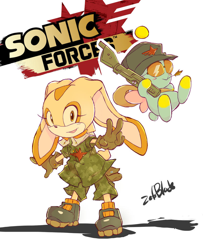 Cream The Rabbit And Cheese In Sonic Forces By Thezetoblade On Deviantart