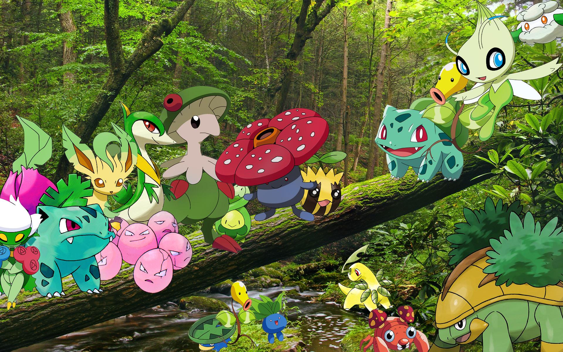 Grass Pokemon Wallpaper By Kyoshian On Deviantart
