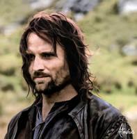 Aragorn Painting by Atavius
