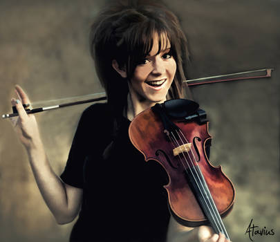 Lindsey Stirling Painting