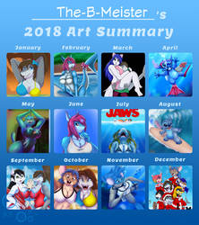 The-B-Meister's Art Summary 2018 by TheBMeister