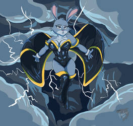Storm Judy Hopps [Remake] by TheBMeister
