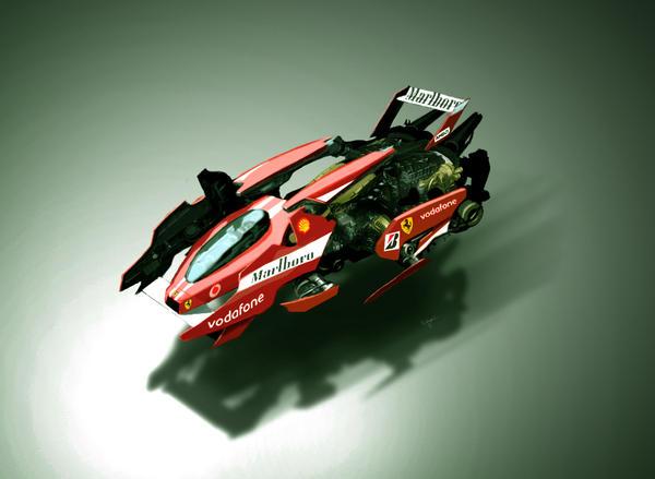 Ferrari F1 - 2029 by dT-Kromos-Tb