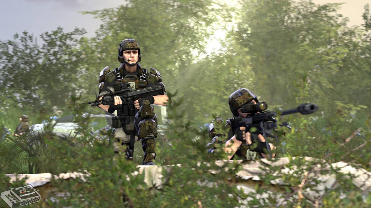 Sentries [SFM 4K] by MatchboxSFM