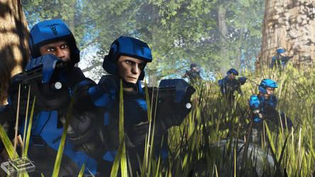Training Days - Blue Team [SFM 4K] by MatchboxSFM