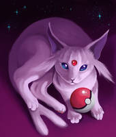 <b>Espeon</b><br><i>Followthepaws</i>