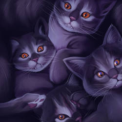 A Whole Mess of Vampire Cats