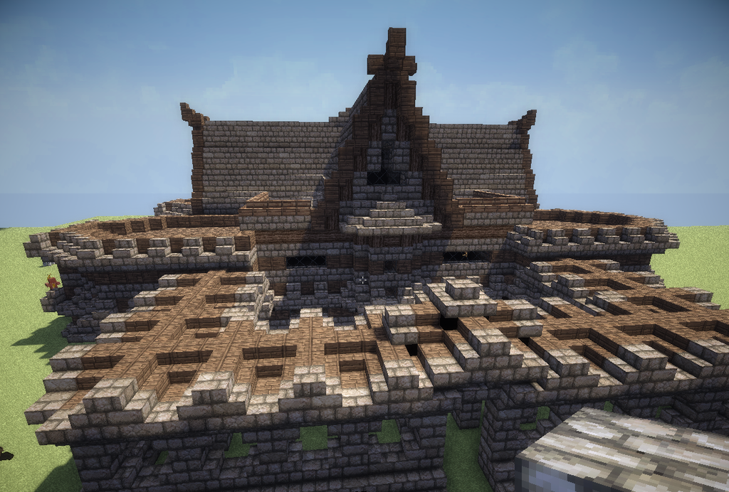 Minecraft Medieval Manor House By AzrealRou On DeviantArt